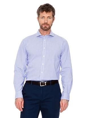 Cortefiel Camisa Cuadros (Tinta / Blanco)