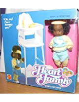Heart Family Kevin Doll and Highchair 1988 Mattel