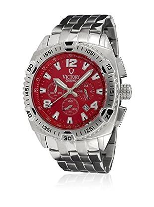 Victory Reloj V-Adventurer Rojo / Plateado