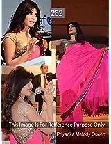 Priyanka Chopra Indian Bollywood Designer Party Wear Ethnic Women Saree, Sari - Pink
