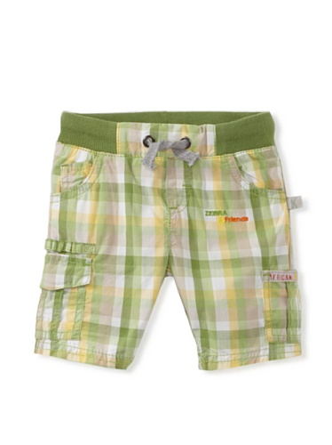 KANZ Baby Plaid Shorts (Green)