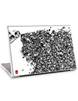 "GelaSkins Protective Skin for 15.4"" PC and Mac Laptops - ""Ink Pond"""
