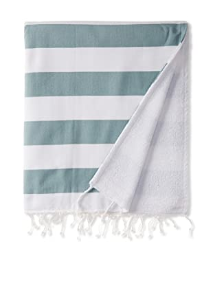 Nine Space Deck Beach Towel, Green