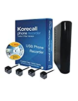 Phone Recorder for 8 Line Korecall Voice Logger