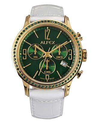 Alfex Orologio Cronografo Bianco