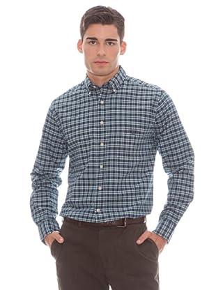 Gant Camisa Cuadros (Verde)