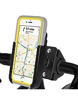 Amzer Crusta Bicycle Bike Handlebar Mount Holder for iPhone 6, iPhone 6s - Retail Packaging - Bike Mount