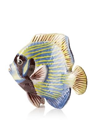 Castilian Fish Wall Décor (Blue/Yellow)