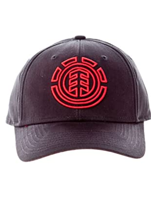 Element Gorra Rasta (Negro / Rojo)