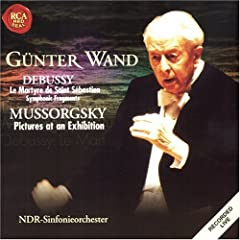 Gunter Wand : Debussy and Mussorgsky