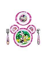 Disney Baby Minnie Mouse 4-Piece Feeding Set