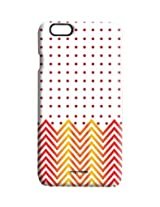 Polka Cheveron - Pro Case for iPhone 6
