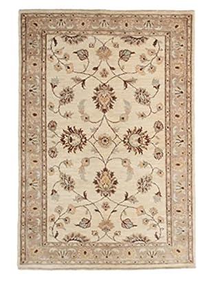 Darya Rugs Oushak Oriental Rug, Ivory, 4' 2