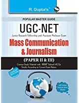 CBSE UGC NET/SET: Mass Communication and Journalism (Paper II & III) JRF and Assistant Professor Exam Guide