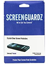 ScreenGuardZ Ultra-Slim Screen Protector for T-Mobile Samsung Behold T919 - Transparent
