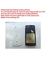 Replacement HIGH QUALITY FULL BODY HOUSING PANEL for Sony Ericsson Xperia ARC S LT18i White