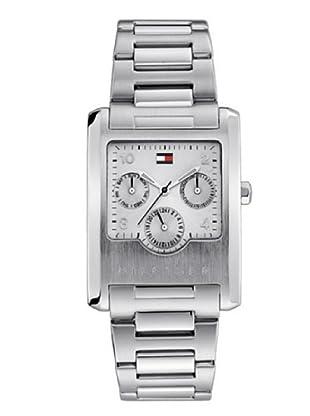 Tommy Hilfiger 1790284 - Reloj de caballero de cuarzo, correa de acero inoxidable color plata