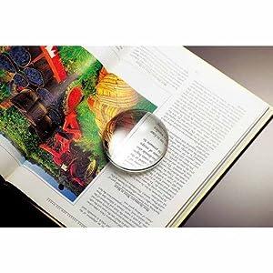 NARUMI GLASSWORKS(グラスワークス) ルーペペーパーウエイト GW1000-14001 光学ガラス