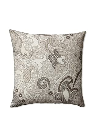 Zalva Colette Decorative Pillow, Grey/Cream/White, 20