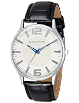 Giordano Analog White Dial Men's Watch - Basic Watch White - P932