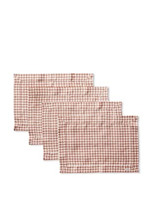 Sferra Set of 4 Piccadilly Placemats (Nutmeg)
