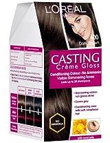L'Oreal Casting Creme Gloss, Dark Brown 400
