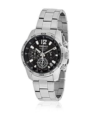 Seiko Reloj SSB125P1 Negro