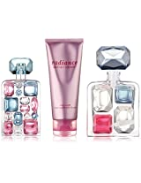 Britney Spears Radiance for Women Gift Set (Eau de Parfum Spray 1.7 Ounce Eau de Parfum Spray Mini Splash 0.16 Ounce Body Shuffle)
