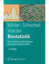 Biostatistik: Eine Einführung für Biologen und Agrarwissenschaftler (Springer-Lehrbuch)