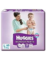 Huggies Wonder Pants L-60 (9 To 14 Kg)