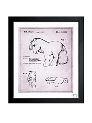 Oliver Gal 'Little Pony 1983' Framed Print