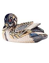 Rinconada Blue Duck Silver, Silver Anniversary Figurine