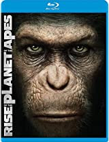 Rise of the Planet of the Apes (Two-Disc Edition Blu Ray + DVD/Digital Copy Combo)