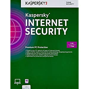 Kaspersky Internet Security 2015 - 1 PC, 1 Year (CD) (Old Edition)
