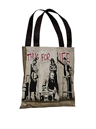 Banksy Thug for Life I Tote Bag