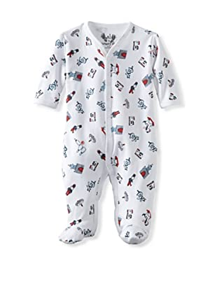 Margery Ellen Baby Pima Cotton Footie with Print (Toys)