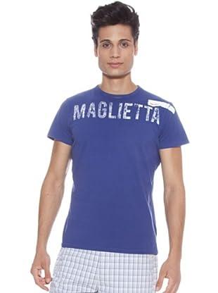 Guru Camiseta Letras (Azulón)