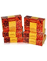 Vaadi Super Value Pack of 6 LUXURIOUS SAFFRON SOAP - Skin Whitening Therapy (5 + 1 FREE)