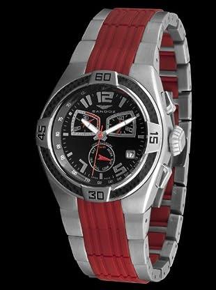 Sandoz 71551-06 - Reloj Fernando Alonso Caballero rojo / negro