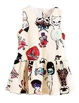 TheTickleToe Kids Girls Trendy Cotton Mix Casual Dailywear Frock Dress 4-5 years