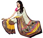 Vipul Bhagalpuri Magic saree-10009