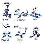 6 IN 1 EDUCATIONAL SOLAR POWER ENERGY ROBOT KIT - SERIES -2