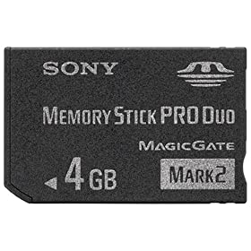 SONY [XeBbN Pro Duo Mark2 4GB MS-MT4G