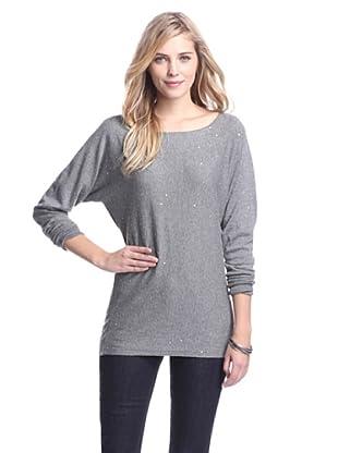 Acrobat Women's Dolman Sweater with Sequins (Steel)