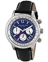 Stuhrling Original Analog Blue Dial Men's Watch - 669.02