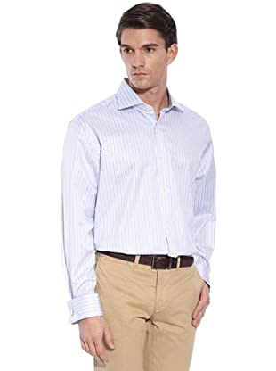 Hackett Camicia Righe (Blu/Bianco)