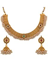 Dishi imitation jewellery gold plated necklace chanadani set Charm jewellery set for Women