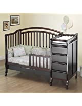 Orbelle Trading Toddler Guard Rail for Eva Crib, Espresso