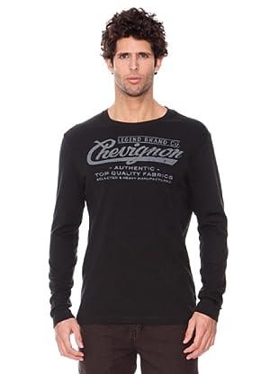 Chevignon Camiseta (Negro)