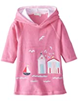 Jojo Maman Bebe Baby Girls Toweling Hooded Pull On, Orchid, 12 24 Months